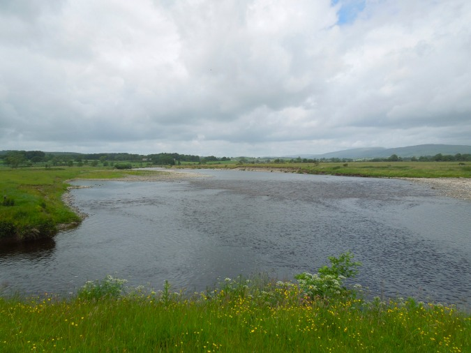 River Lune near Kirkby Lonsdale, Cumbria, England