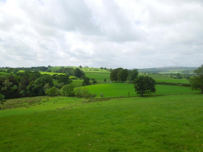 Farm land near Arkholme, Lancashire, England