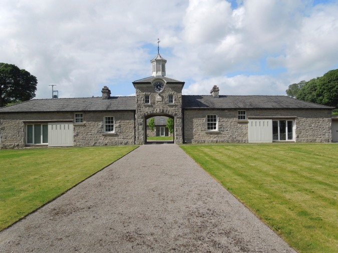Farm estate building near Burton-in-Kendal, Cumbria, England
