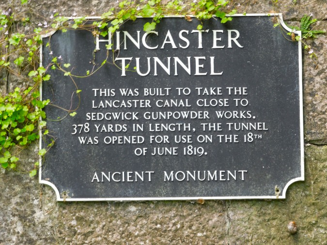 Hincaster Tunnel, Lancaster Canal, Cumbria, England