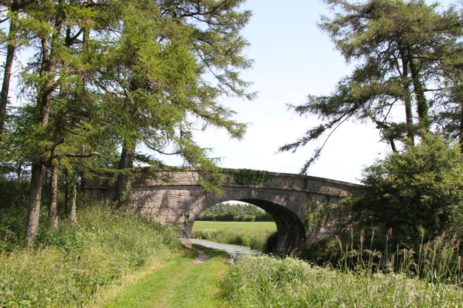 Canal Bridge on the Lancaster Canal, Cumbria, England