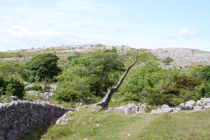 Limestone paving, Farleton Knott, Cumbria, England