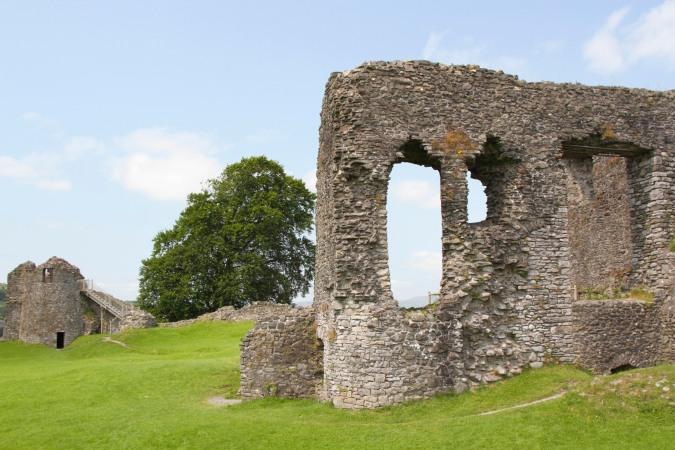 Kendal Castle, Kendal, Cumbria, England