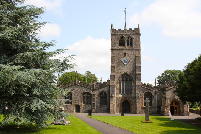 Kendal Parish Church, Cumbria, England