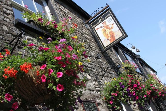 Rifleman's pub, Kendal, Cumbria, England
