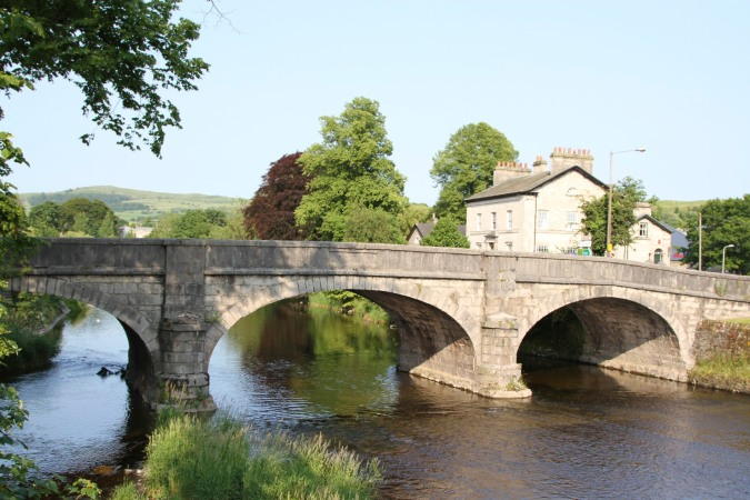 Bridge over the River Kent, Kendal, Cumbria, England