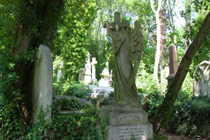 Highgate Cemetery, Highgate Village, London, England