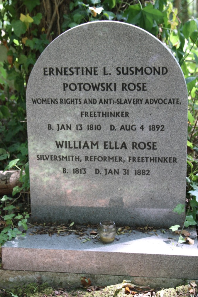 Grave of Ernestine and William Rose, Highgate Cemetery, London, England