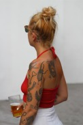 Tattoos, Whitecross Street Party, London, England