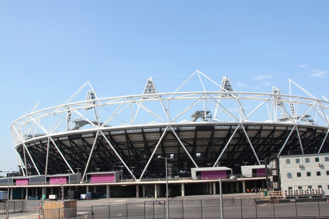 London Olympic stadium, Lee Valley Park, London, England