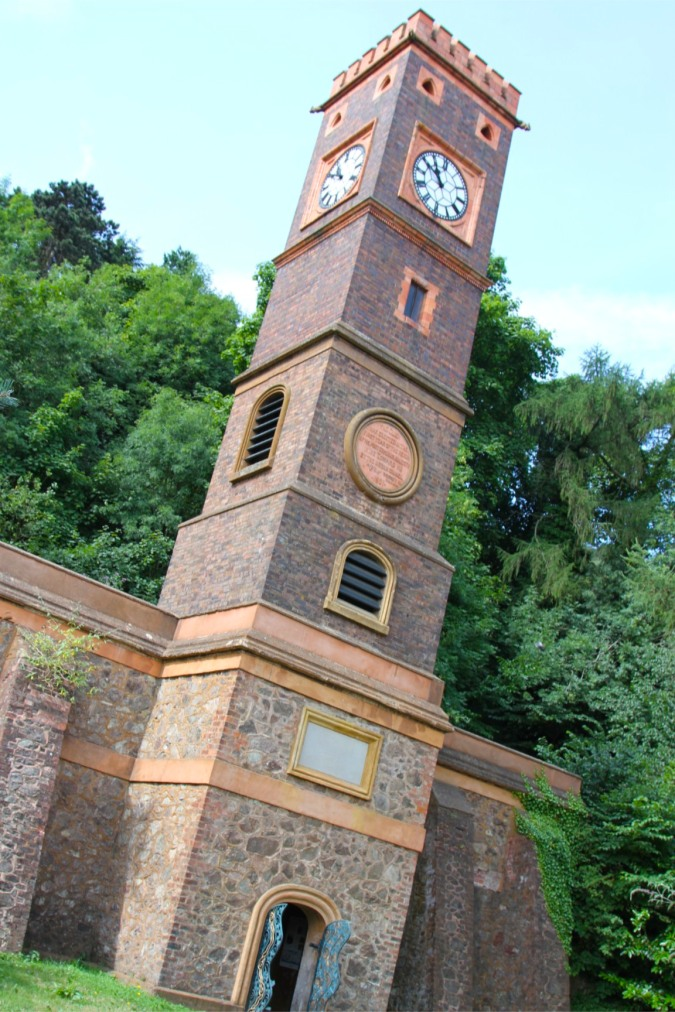North Tower water spring, Malvern, Worcestershire, England