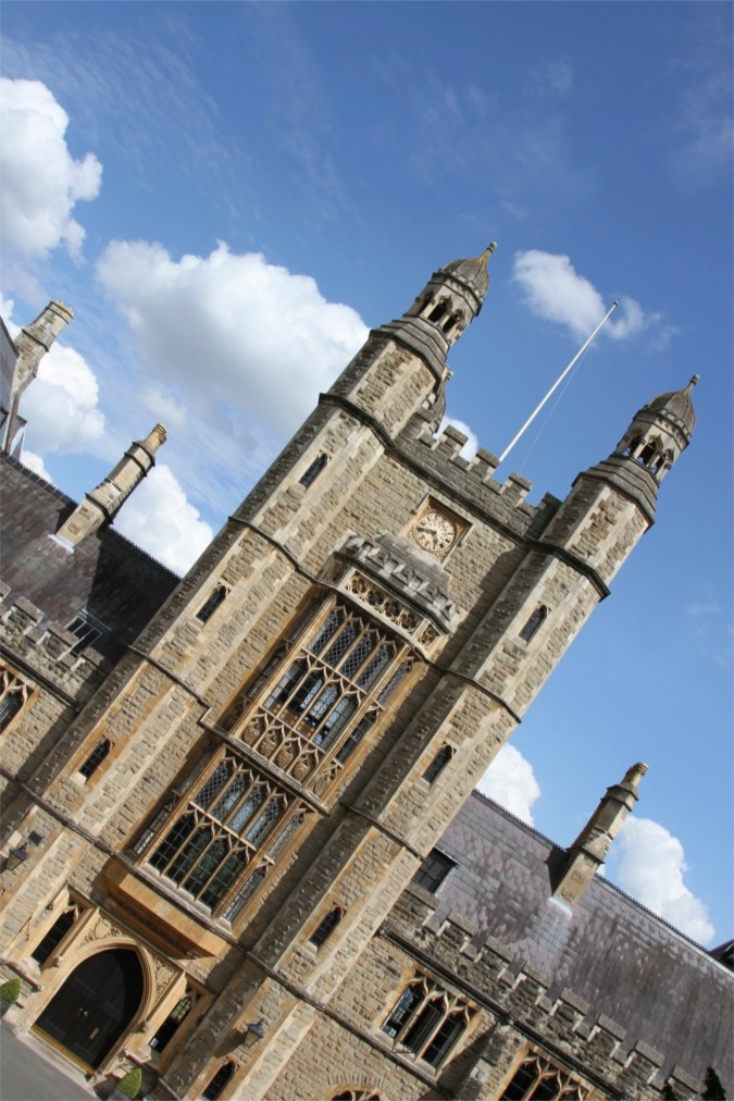 Malvern College building, Malvern, Worcestershire, England