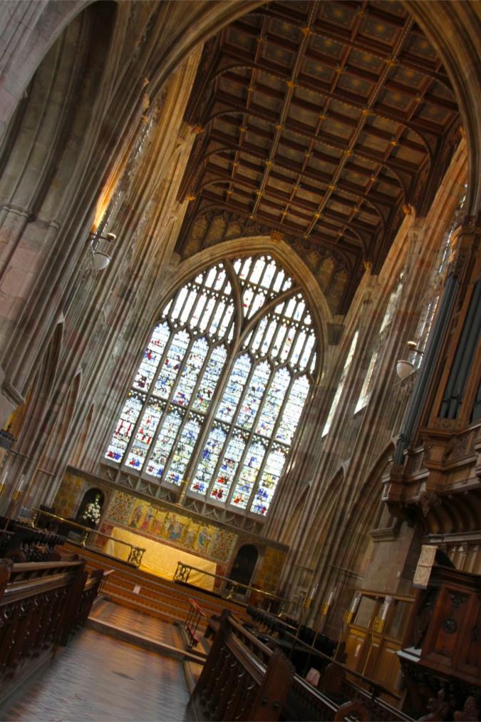 Malvern Priory, Malvern, Worcestershire, England
