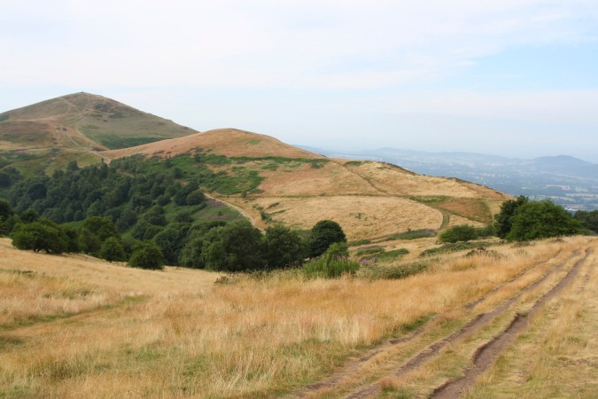 The Worcestershire Beacon seen from Table Hill, Malvern Hills, Worcestershire