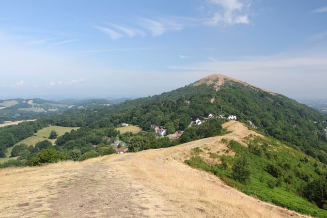 View of Worcestershire Beacon from Perseverance Hill, Malvern Hills, Worcestershire