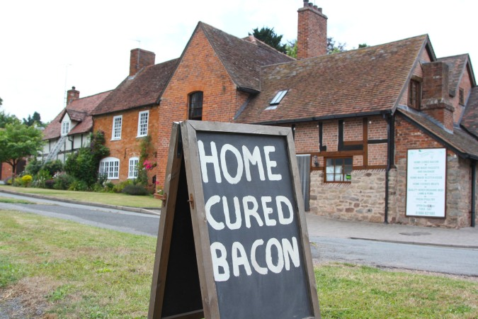Home cured, Three Choirs Way, Worcestershire, England