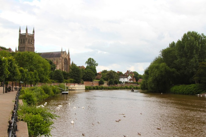 Worcester Cathedral, Three Choirs Way, Worcestershire, England