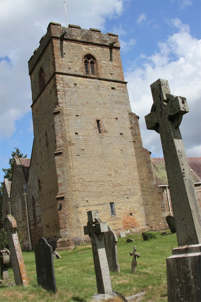 Norman church, Colwall, Herefordshire, England