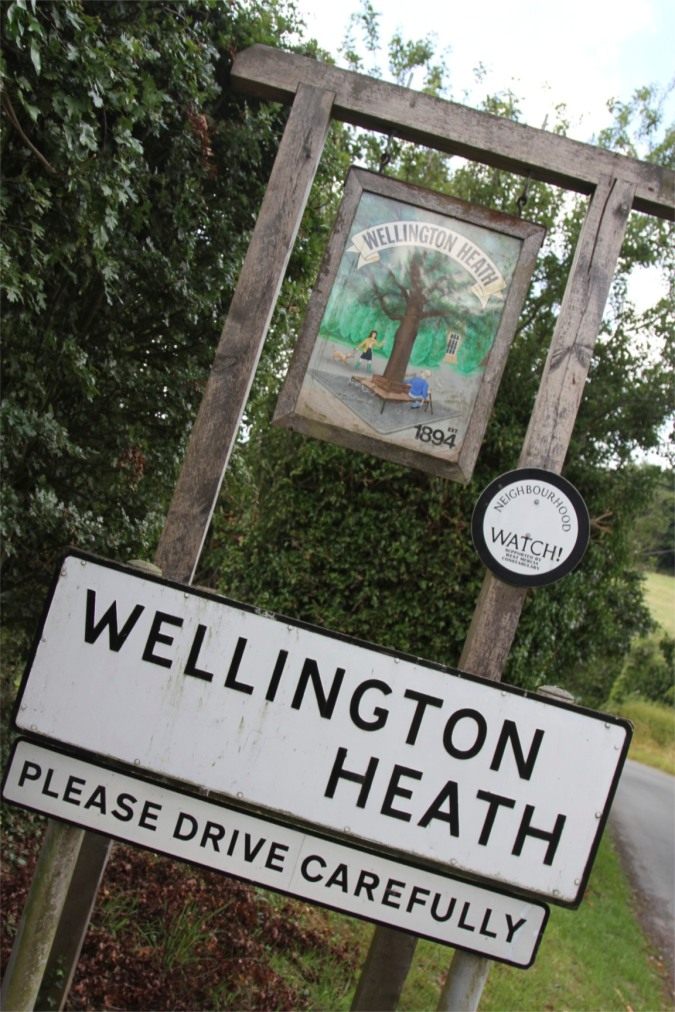 Wellington Heath, Herefordshire, England