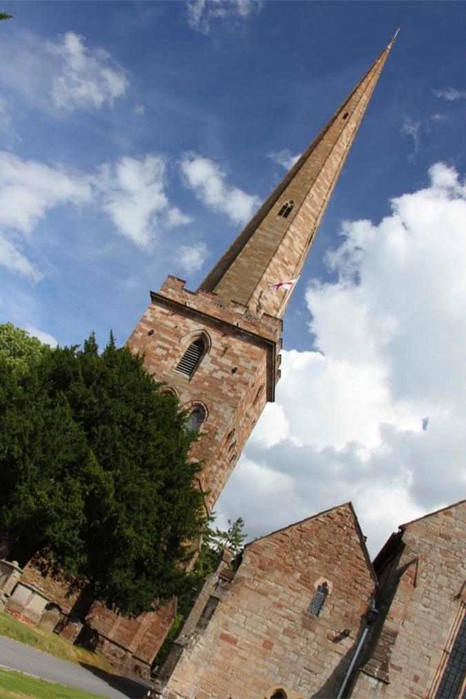 St. Michael and All Angels Church, Ledbury, England