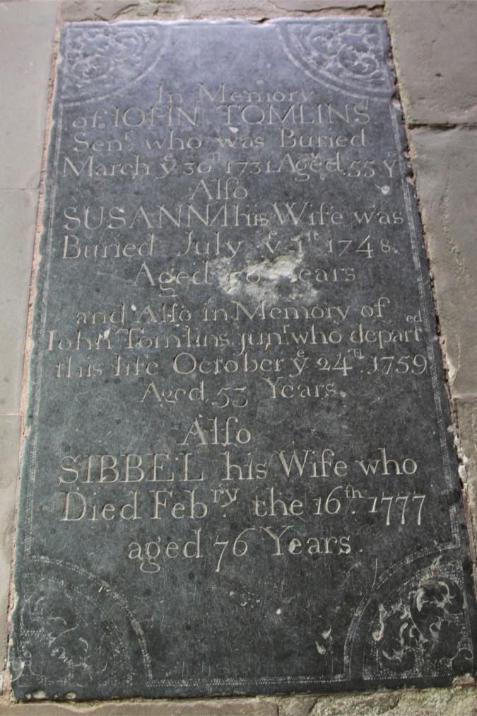 Tomb, St. Michael and All Angels Church, Ledbury, England