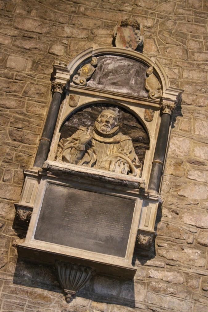 Memorial, St. Michael and All Angels Church, Ledbury, England