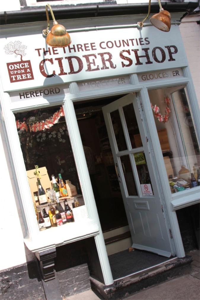 Cider shop, Ledbury, England