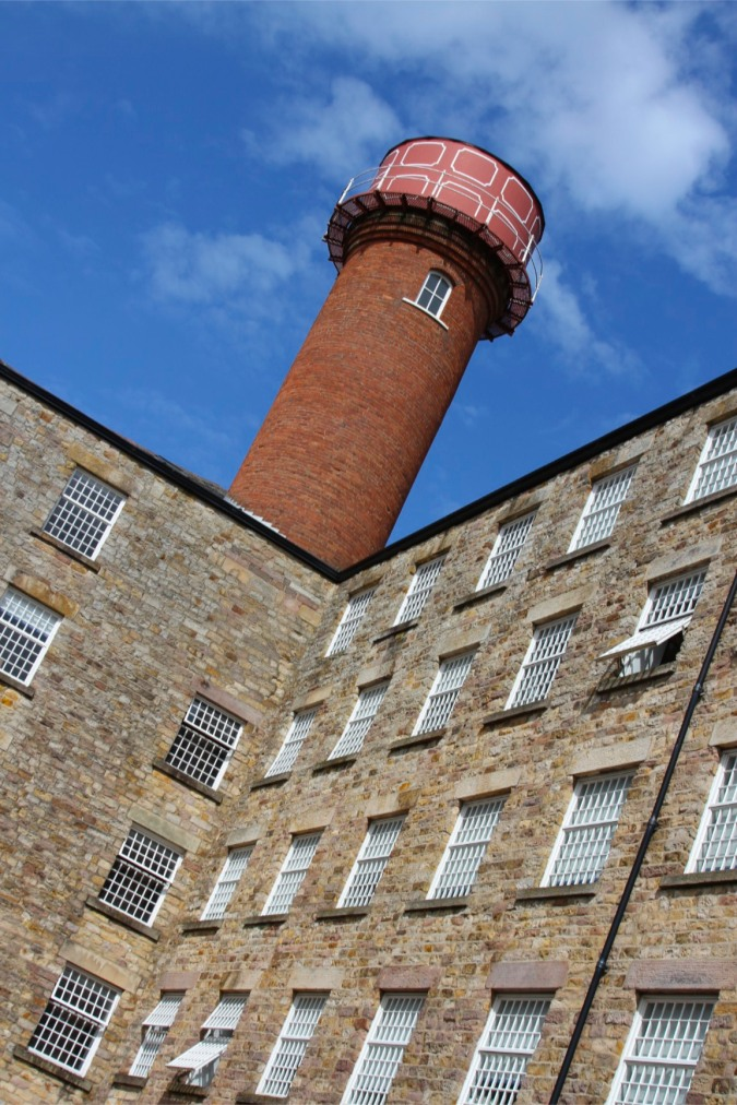 Moor Lane Mill maker of bombazine, Lancaster, Lancashire, England