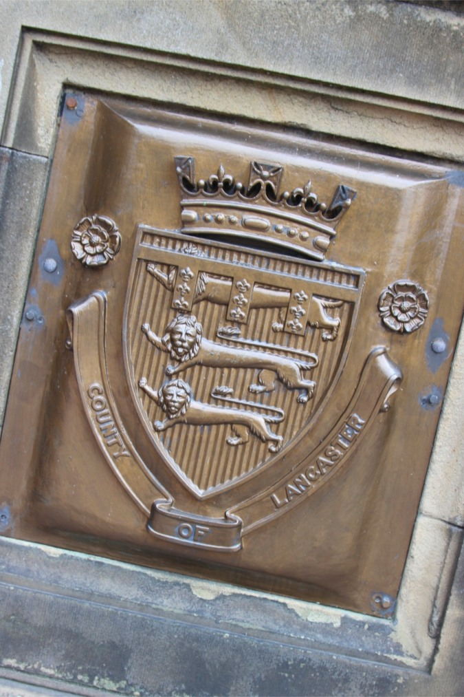Three Lions Passant, Coat of Arms for Kings of England, Lancaster, Lancashire, England
