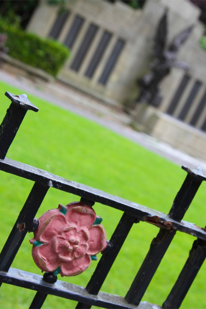 The Red Rose of Lancaster, Lancashire, England
