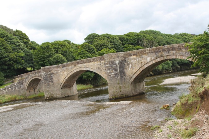 Loyn Bridge on the Lune Valley Ramble, Lancashire, England