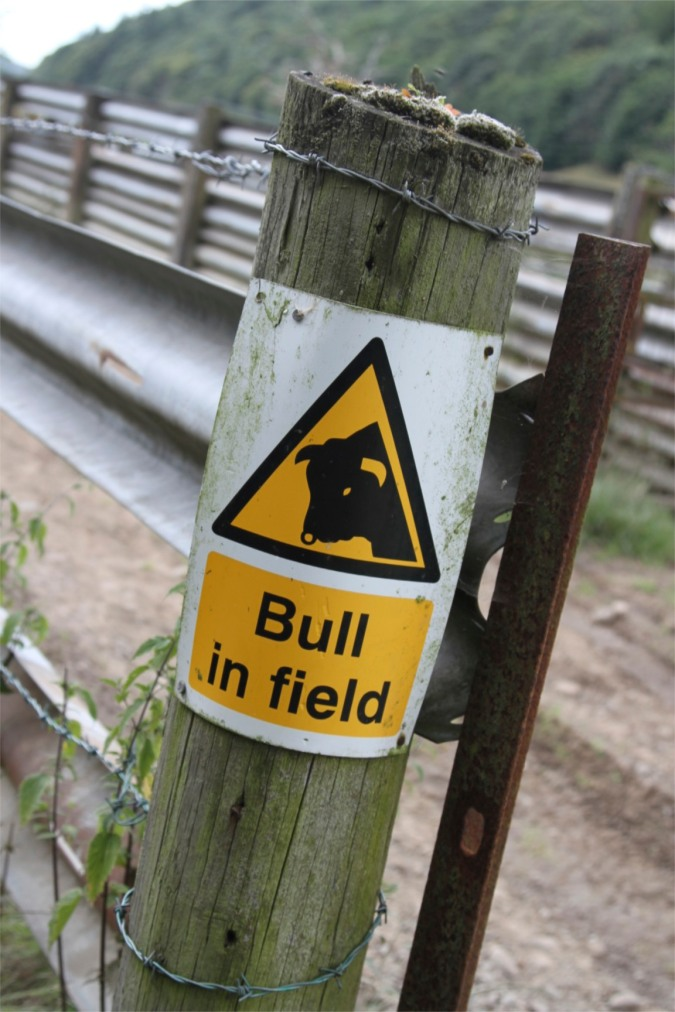 Danger! The Lune Valley Ramble, Lancashire, England