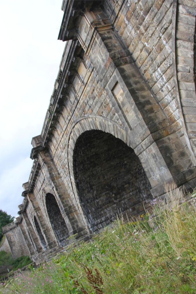 Lune Aqueduct on the Lune Valley Ramble, Lancashire, England