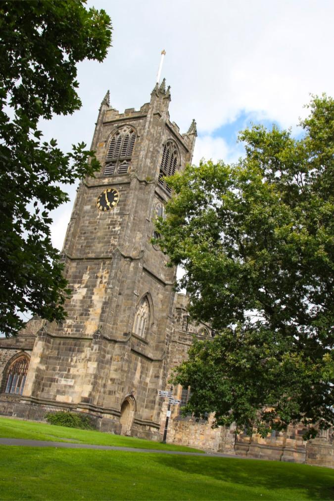Lancaster Priory, Lancashire, England