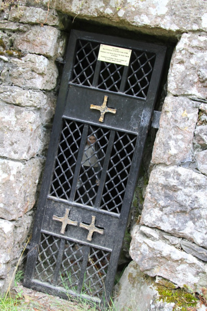 Shrine to St. Lioba, Beetham, Cumbria, England