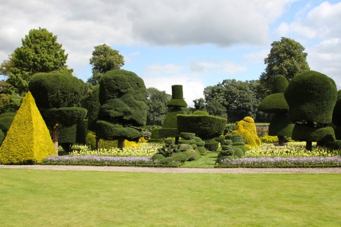 The Topiary Garden at Levens Hall, Levens, Cumbria, England