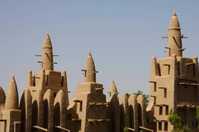 The Mosque, Mopti, Mali, Africa