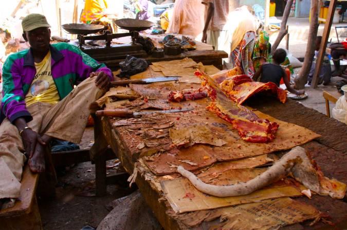Central market, Mopti, Mali, Africa