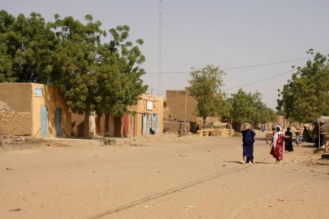 Niafunké, Niger River, Mali, Africa