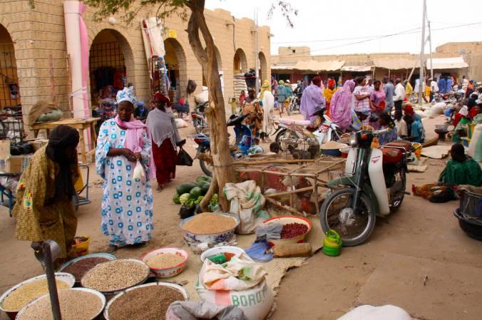 Market, Timbuktu, Mali, Africa