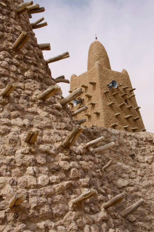 Djinguereber Mosque, Timbuktu, Mali, Africa
