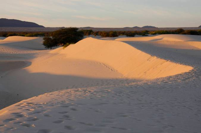 Sunset, Sahara Desert, Mali, Africa