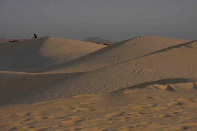 Sand dunes, Sahara Desert, Mali, Africa
