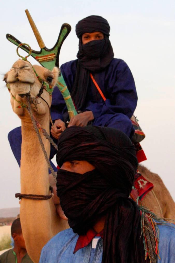 Tuareg, Essakane, Mali, Africa