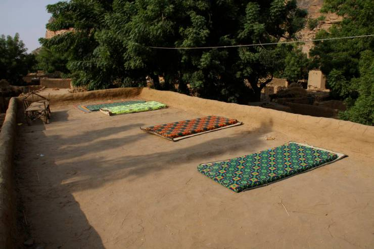 A room with a view, Teli, Dogon Country, Mali, Africa