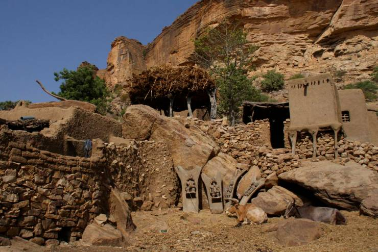 Enndé, Dogon Country, Mali, Africa