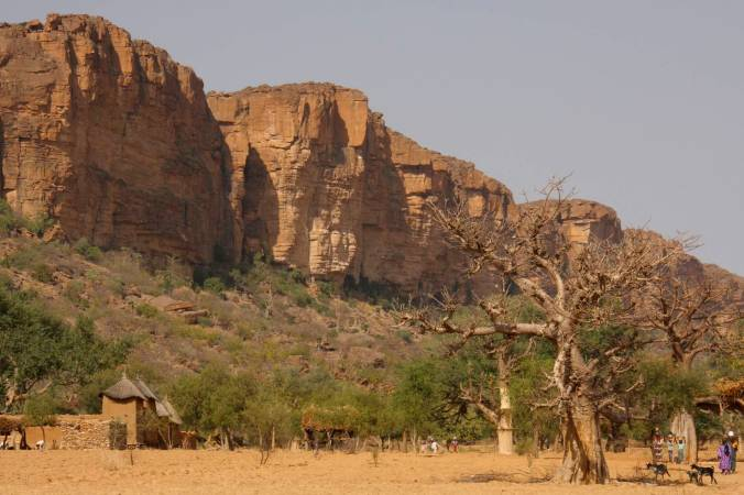 The Bandiagara Cliffs, Dogon Country, Mali, Africa