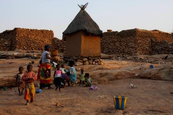 Begnemato village, Dogon Country, Mali, Africa