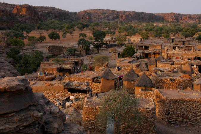 Begnemato village, Dogon Country, Mali, Africa