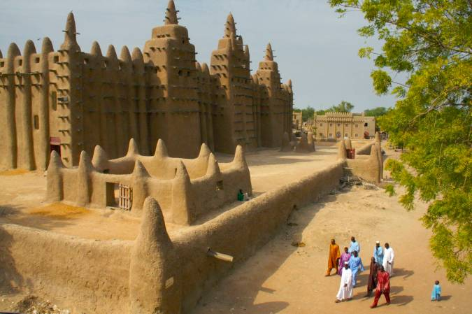 The Grand Mosque, Djenne, Mali, Africa